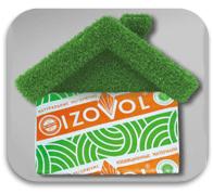 Теплоизоляция IZOVOL