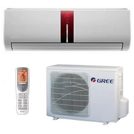 Gree GWH 09 UB-K3 DNA1B red