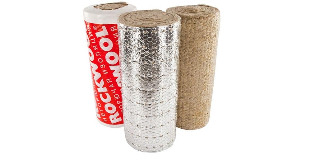 ROCKWOOL ALU 1 WIRED MAT 80 - 60мм