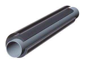 Трубки K-Flex ST IC CLAD BK толщина 25мм диам.18мм
