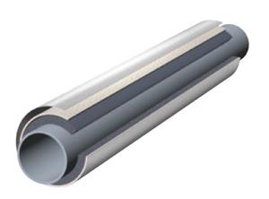 Трубки K-Flex ECO IC CLAD SR толщина 13мм диам.15мм