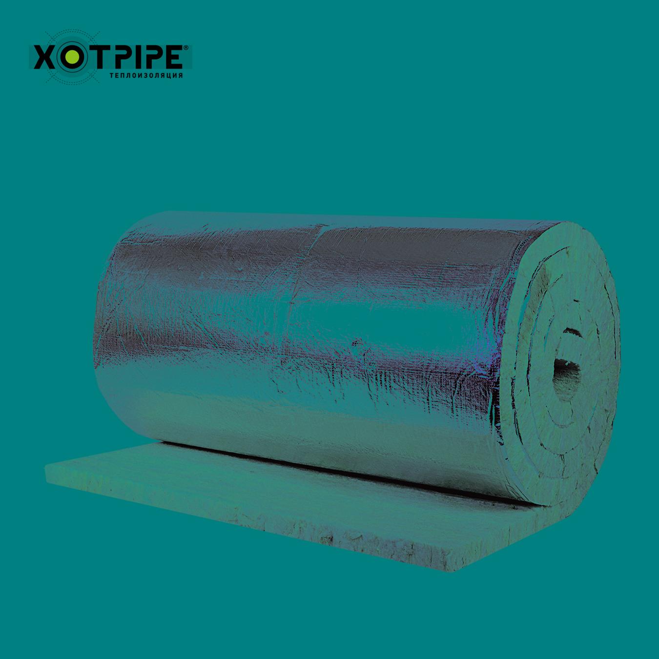 Ламельный мат XOTPIPE плот.50кг/м.куб., толщ.30мм