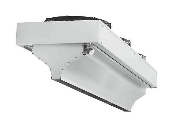 КЭВ-24П406Е электрическая тепловая завеса Тепломаш серии 400 IP54