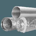 Воздуховод гибкий неизолированный МЕ 160